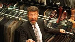 George Zimmer in Mens Warehouse
