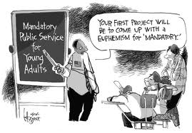 mandatory volunteerism