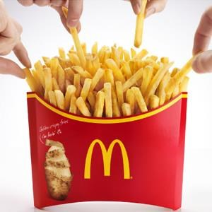 McD Mega Potato fries