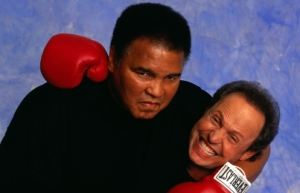 Muhammad Ali and Billy Crystal