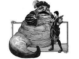 Jabba as Falstaff