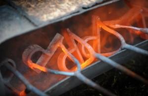 Glowing Branding Irons