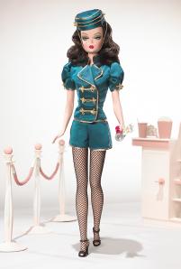Barbie type Doll as Movie Usherette