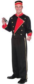 Male Model in Movie Usher Uniform