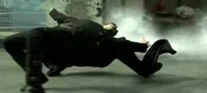 Matrix Neo Bullet Dodge