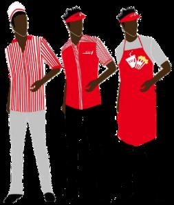Modern Movie Worker Uniforms