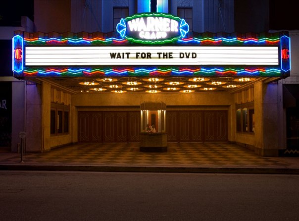 Movie Marquee - Wait for the DVD