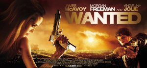 Wanted Movie Poster Wide