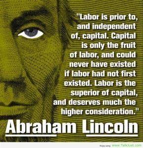 Abe Lincoln-labor-day-quote
