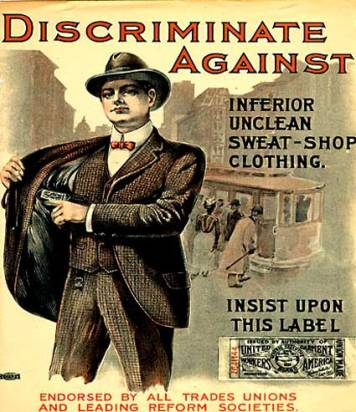 United Garment Workers poster