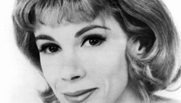 Joan Rivers B & W Closeup