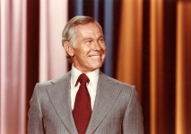 Johnny Carson Monologue Pose Looks Left