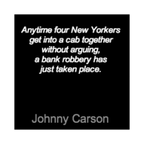 Johnny Carson New Yorker quote