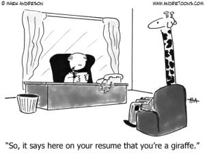 Resume of Giraffe
