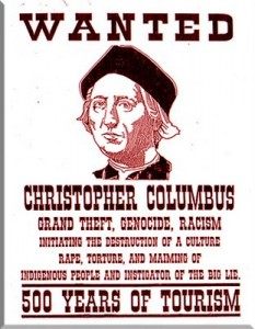 Christopher Columbus Wanted Poster