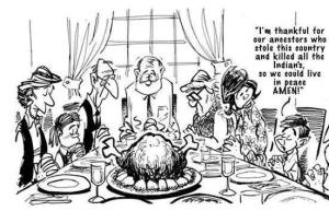 Columbs Day Thanksgiving Prayer Cartoon