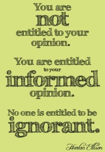 Harlan Ellison Opinion Quote