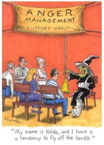 Witch in Anger Management