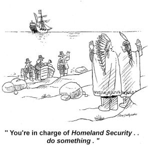 Indian Homeland Security Cartoon