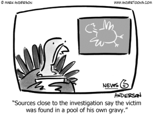 Turkey Newscaster