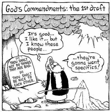Passover Commandments Draft