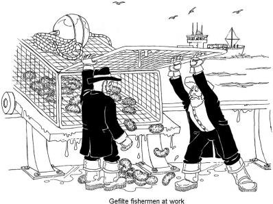 Passover gefilte fishermen