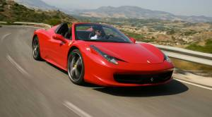 Ferrari-458-Spider-Red