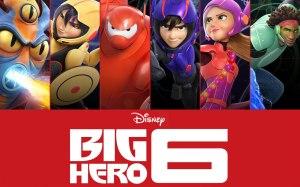 Big Hero 6 in costumes