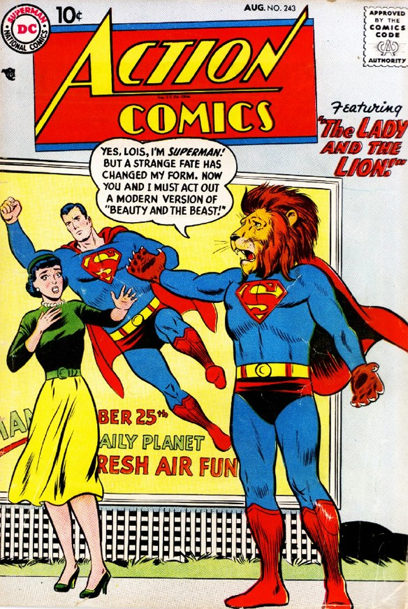 Action Comics The Lady & The Lion