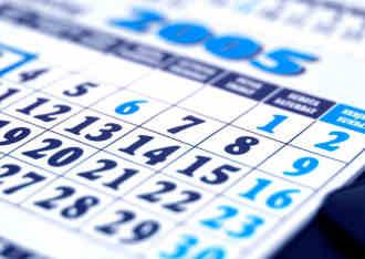 General Calendar Image