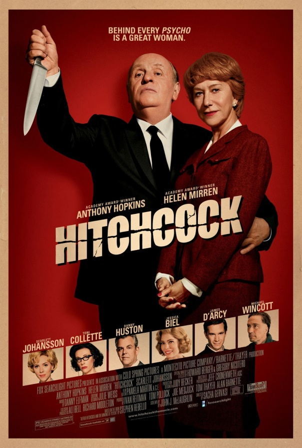 hitchcock 2012 film poster