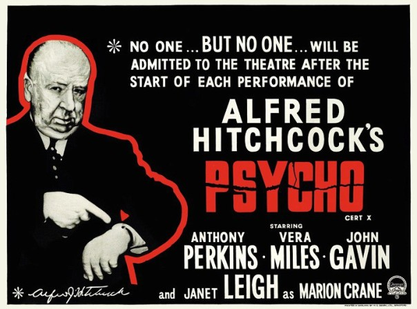 Psycho Theatre Warning Card
