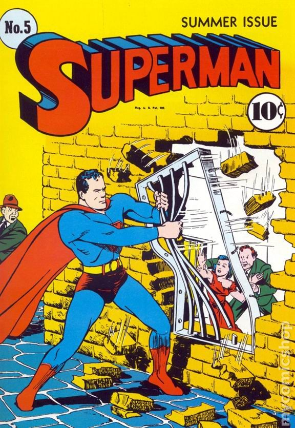Superman Comic Early Summer Issue