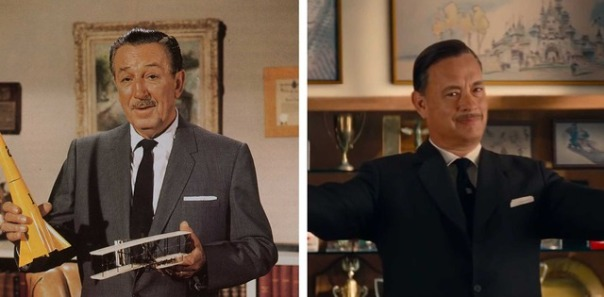 Walt Disney vs Tom Hanks