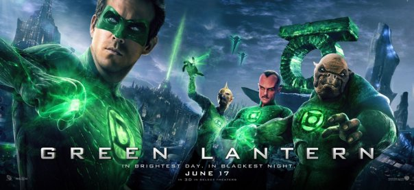 Green Lantern 2011 movie poster