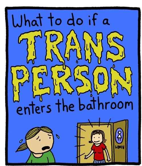 Trans Person Un Restroom 1