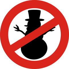 Your assurance of a snowman-free zone